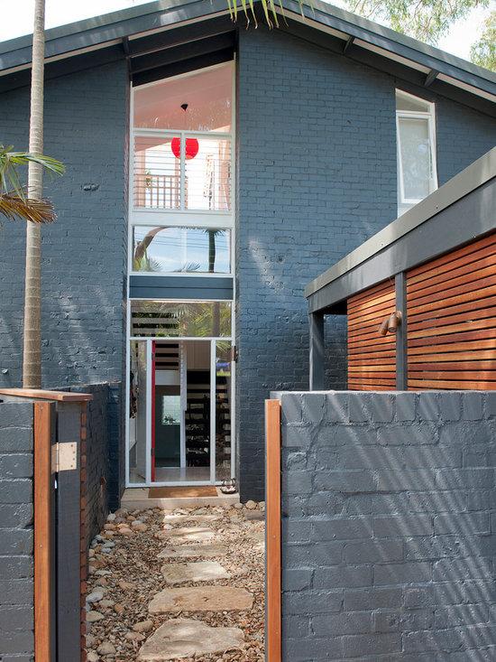 contemporary brick exterior design ideas pictures remodel decor