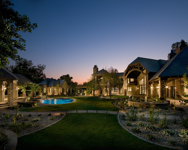 Biltmore estate mediterranean exterior phoenix by for Luxury home exterior