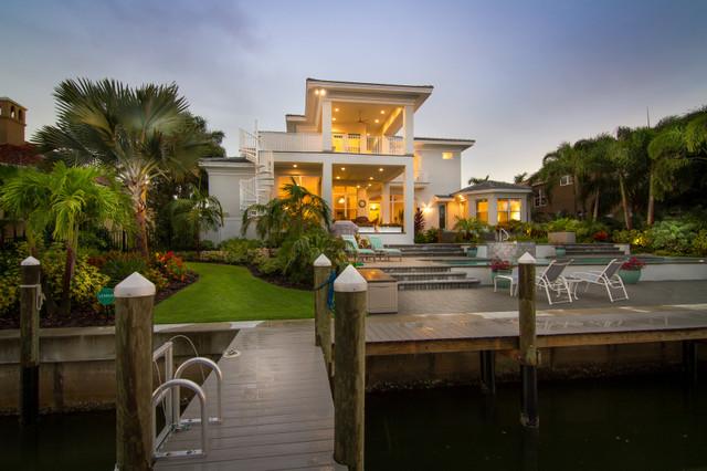 Bird Key Residence tropical-exterior