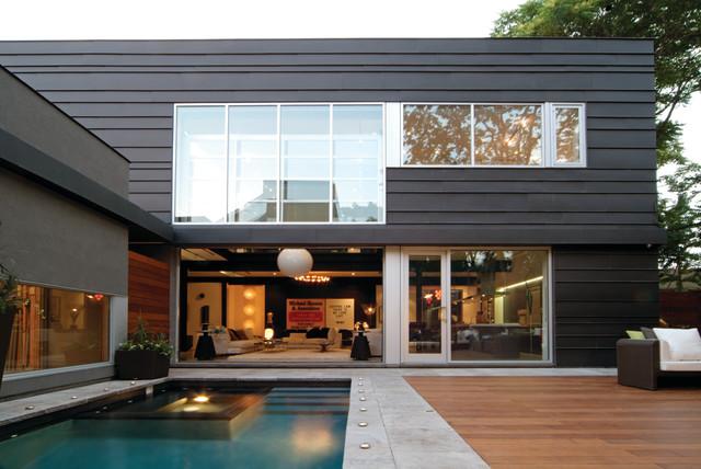 Bishop Street Residence - Modern - Exterior - Toronto - by Taylor ...