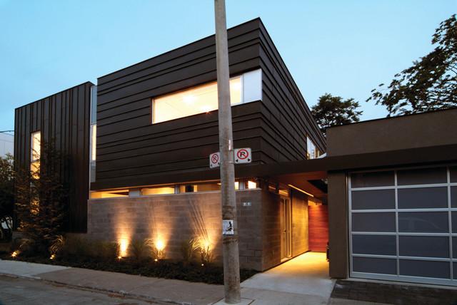 Bishop Street Residence Modern Exterior Toronto By