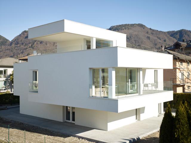 Bl single family house edificio unifamiliare bl for Casa in stile scandole