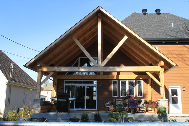 Blainville traditional-exterior