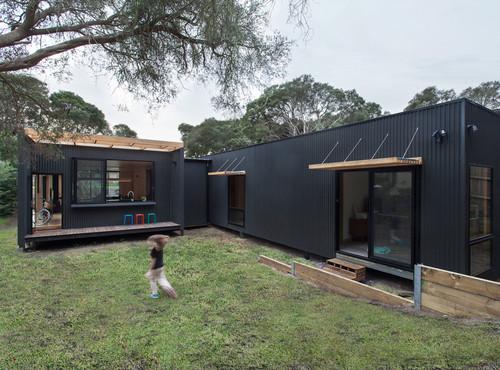 Tipos de revestimientos exteriores en steel frame for Casas de chapa para jardin