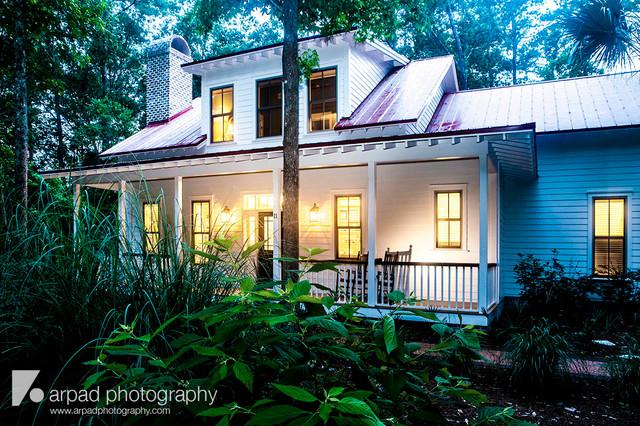 Blitzer Green Home traditional-exterior