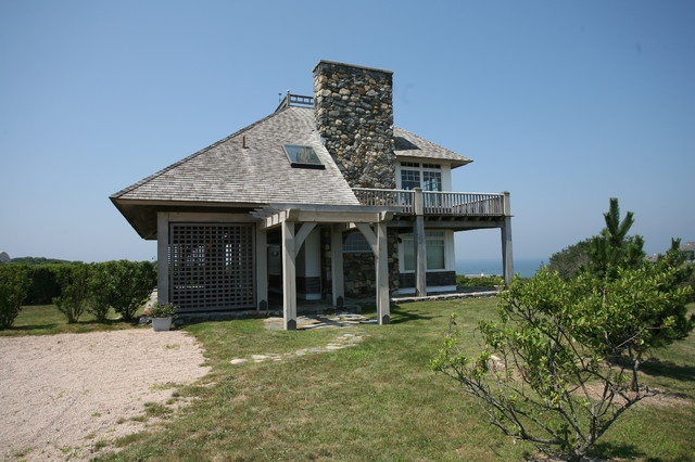 block island cottages traditional exterior