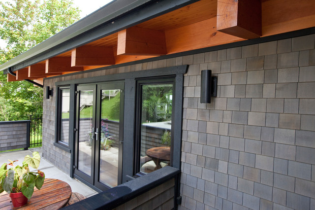 Blocking Detail On Exterior Walls Contemporary