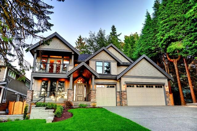 Blue mountain custom built home for Custom mountain homes