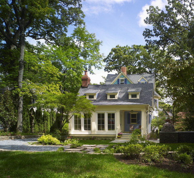 Blue Victorian Traditional Exterior Dc Metro By