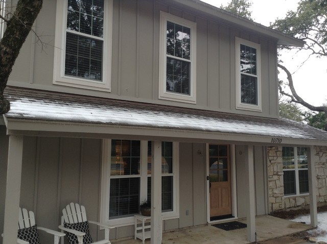 Board And Batten Traditional Exterior Austin By