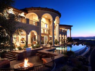 Bone House Mediterranean Exterior Las Vegas By