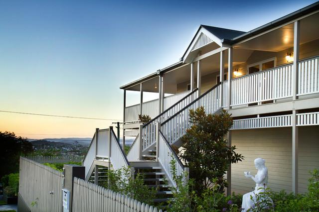 Bonney ave modern queenslander traditional exterior - Modern queenslander home designs ...