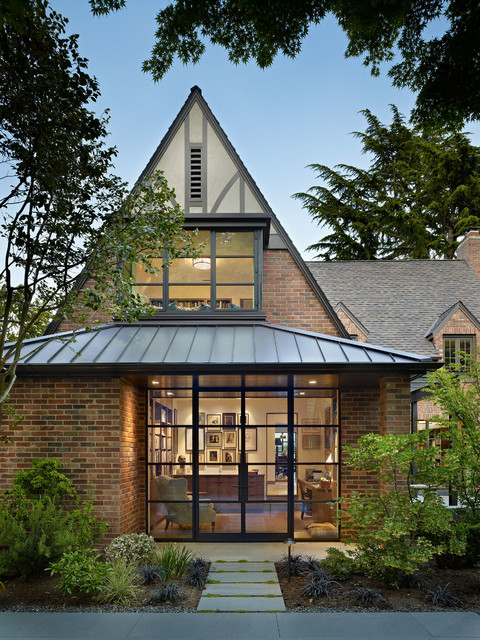 Book House traditional-exterior