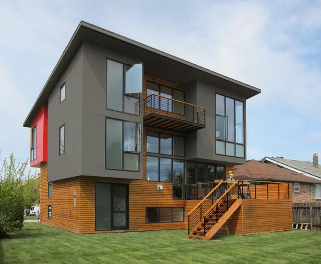 Book Loft Modern Exterior Seattle By CAST Architecture