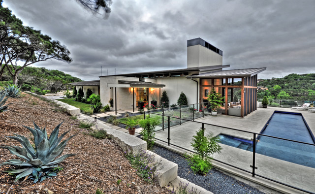 Bookhouse Residence contemporary-exterior