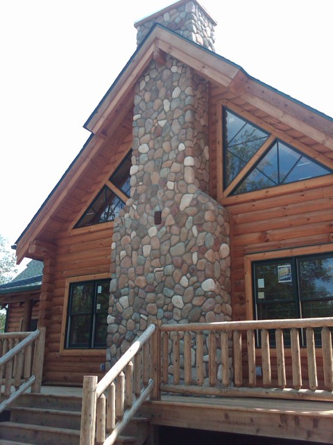Boral Cultured Stone River Rock Traditional Exterior