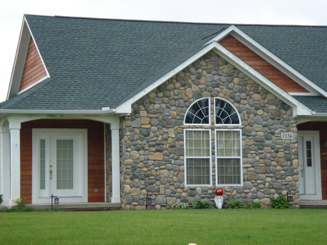 Boral Cultured Stone - River Rock traditional-exterior