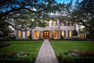 Bordley 2 Traditional Exterior Houston By Thompson
