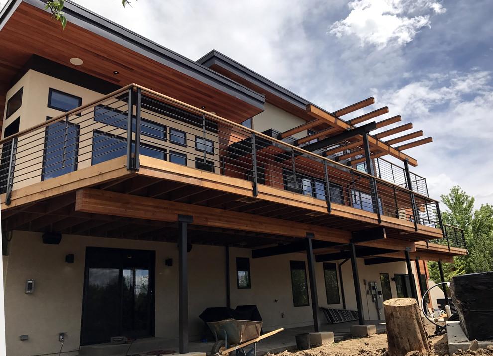 Boulder home construction
