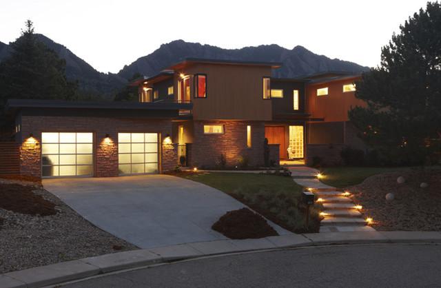Boulder Residence modern-exterior