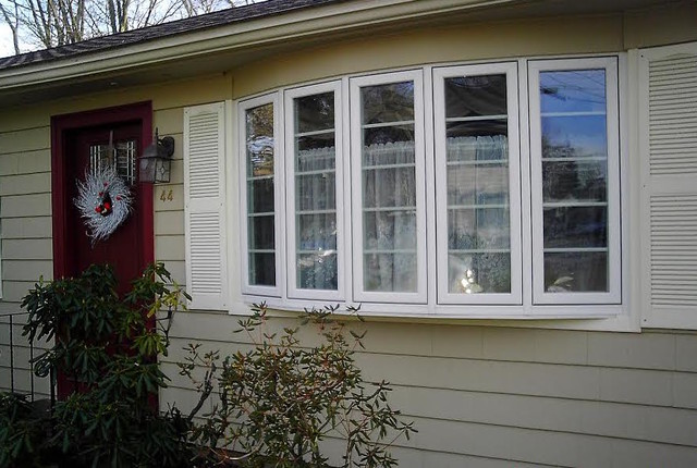 Exterior Bow Windows : Bow window traditional exterior providence by kra inc
