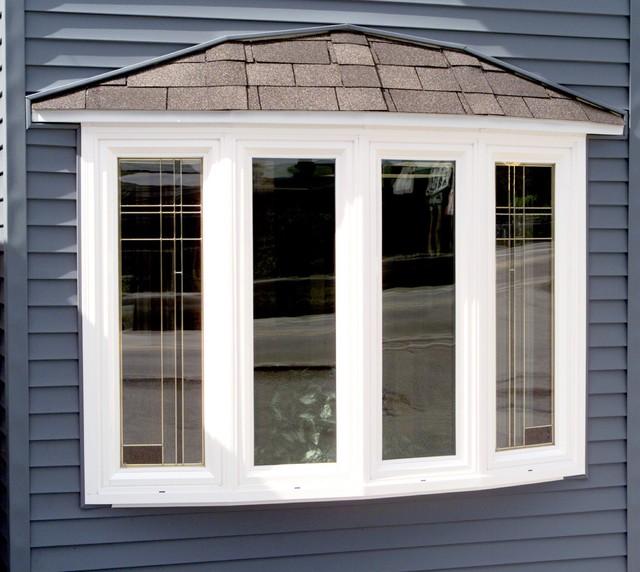Exterior Bow Windows : Bow window system