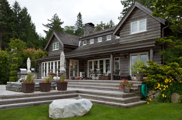 Bowen Island Waterfront Traditional Exterior Other