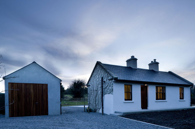 Box architecture contemporary exterior dublin by for Modern cottage house plans ireland