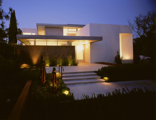 Boxenbaum residence modern exterior los angeles by for Home garden design houzz
