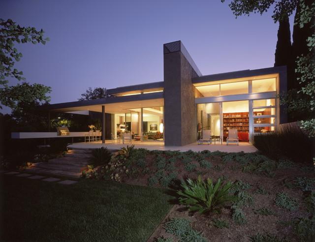 Boxenbaum Residence midcentury-exterior
