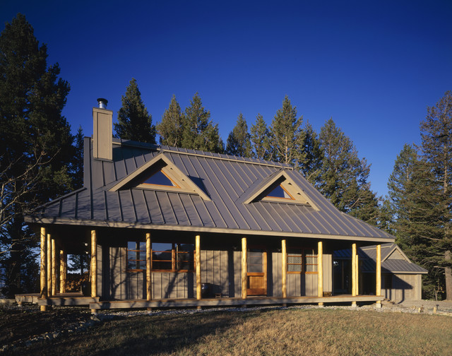 Bozeman Residence rustic-exterior