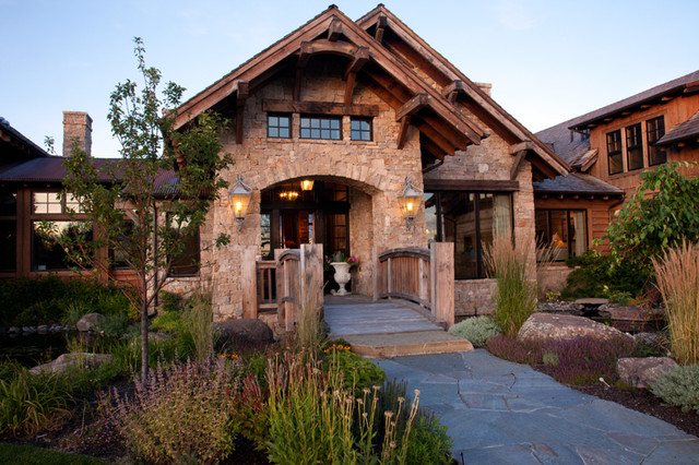 Bozeman Residence traditional-exterior