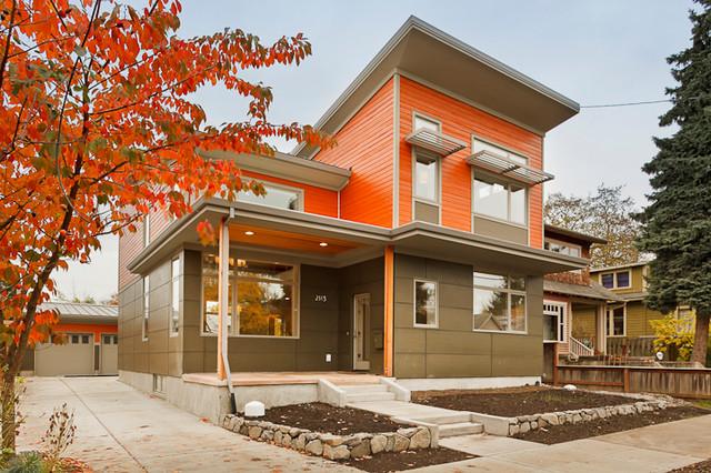 Bradburn Passive House contemporary-exterior