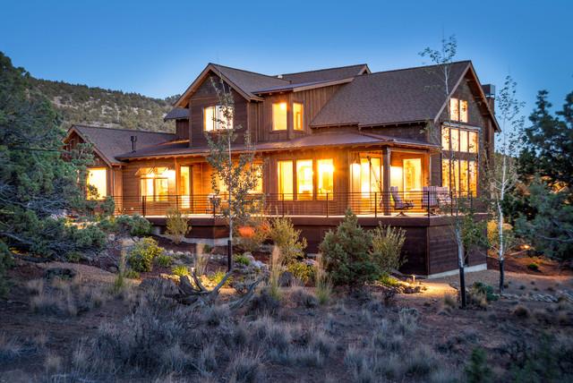 Brasada Ranch Home Design 2 Story with Open Loft - Rustic ...