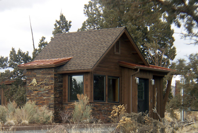 Brasada ranch style homes farmhouse exterior other for Western ranch style homes