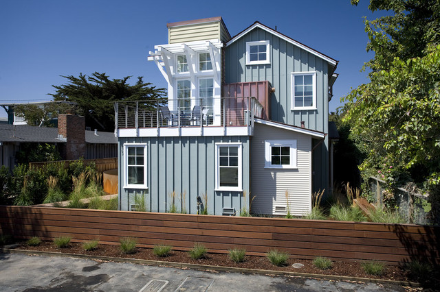 breakers beach house beach style exterior san francisco by noel cross architects