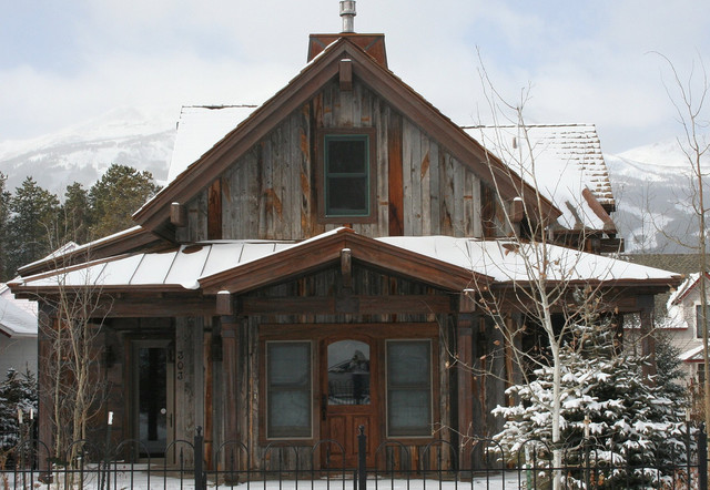 Breckenridge colorado house rustic exterior denver for Building a home in colorado