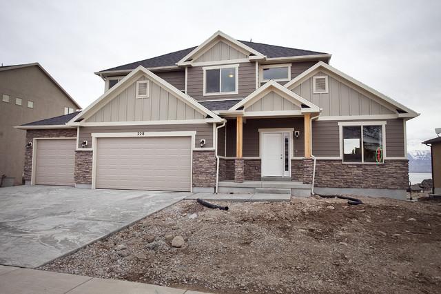 Breckenridge Plan - Stillwater Model Home traditional-exterior