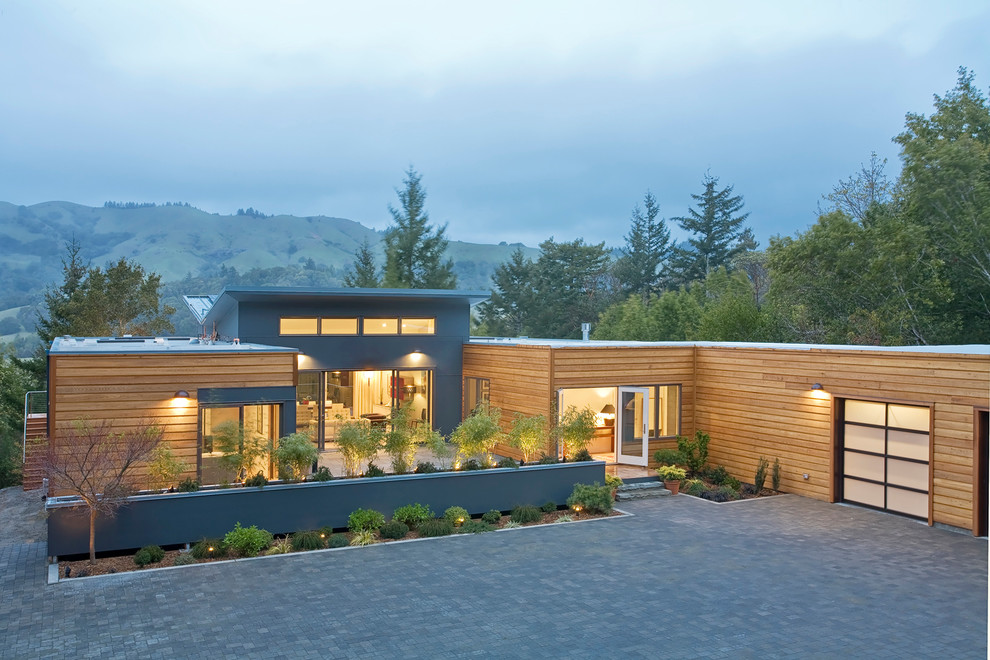 Modern exterior home idea in Other