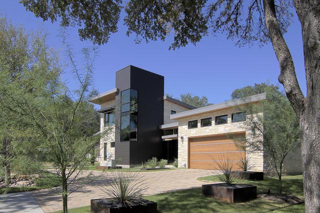 Briarwood Residence Modern Exterior Austin By