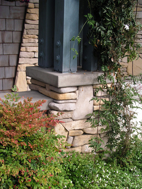 Brick and Stonework Ideas traditional-exterior