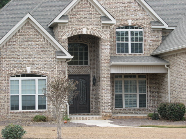 Brick Arch Options Traditional Exterior Atlanta By