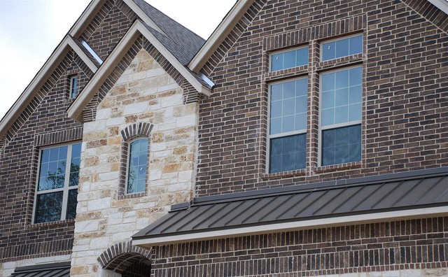 Brick Claymex Brownfield Traditional Exterior