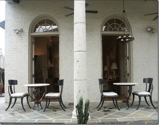 Brick Cream Paint - Arched Windows - Traditional - Exterior - new ...