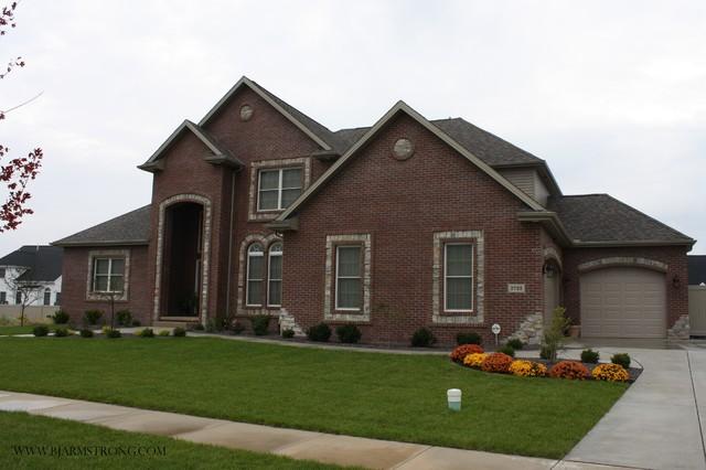 Brick Home Exterior - Traditional - Exterior - Chicago - by ...