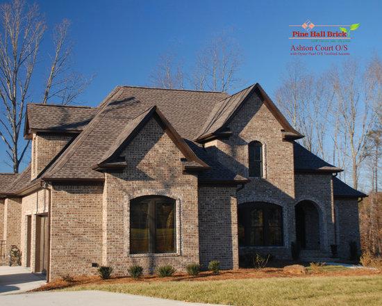 Brick Homes in NC - photo by Pine Hall Brick Company