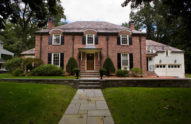 Brick House Traditional Exterior Boston By Incite