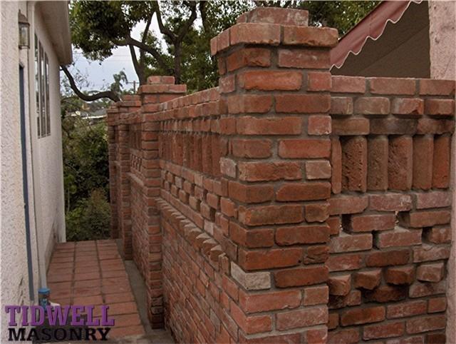 Brick Patio Wall Designs: Brick Patio Screen Wall