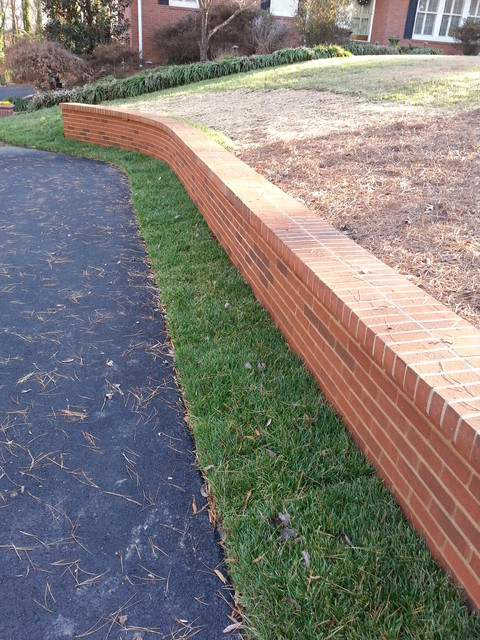 Brick Retaining Walls Planters