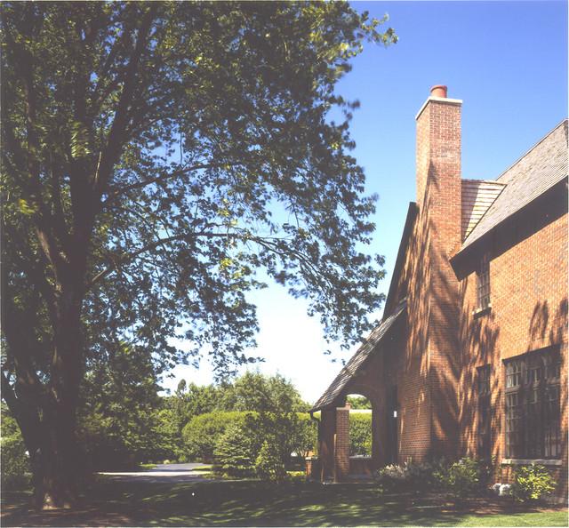 Brick Tudor traditional-exterior
